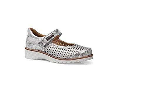 Zapato para Plantillas CALZAMEDI Modelo 0690-P Color Plata Talla 36