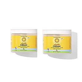 California Baby Calendula Moisturizing Cream (2 oz.) Hydrates Soft, Sensitive Skin | Plant-Based, Vegan Friendly | Soothes irritation caused by dry skin on Face, Arms and Body | 2 Pack