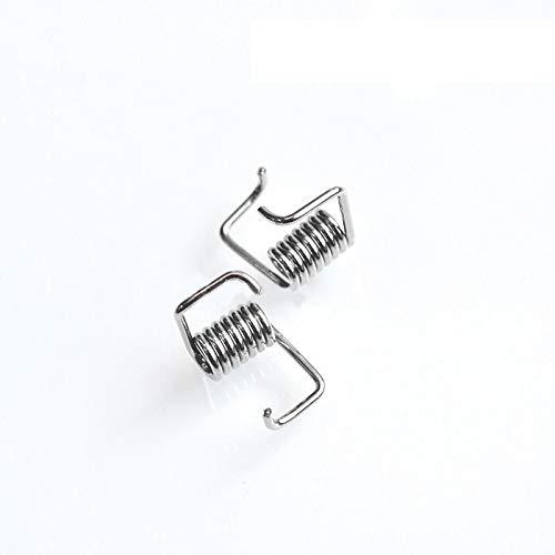 XBaofu 50pcs Frühling 3D Druckerteile Zahnriemenspanner Feder RepRap Locking Torsionsfeder