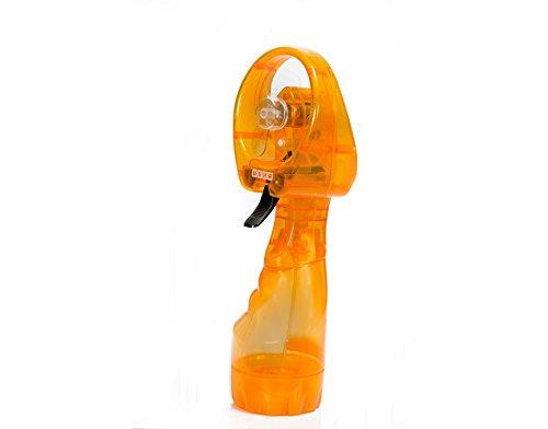 USHA Misty Handheld Fan with Mist Spray (Yellow)