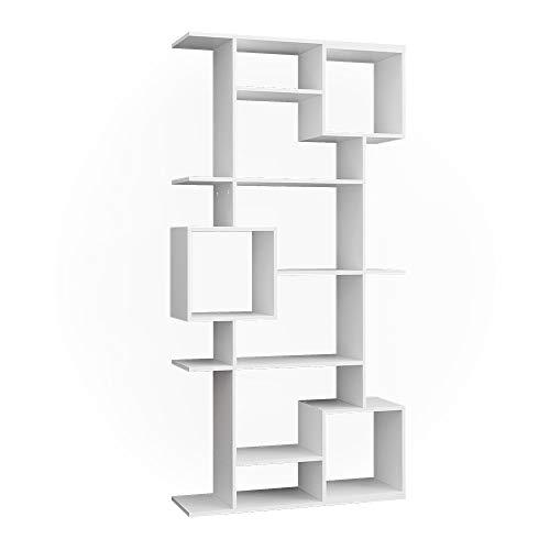 Vicco Bücherregal Raumteiler Standregal Würfel weiß 9 Fächer Wandregal Hochregal