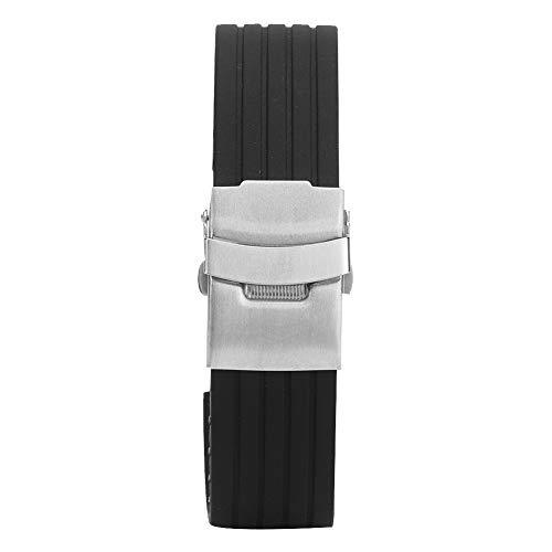 Pulsera de reloj resistente al desgaste, correas de reloj, para hombres Reemplazo de reloj para mujeres(18mm)
