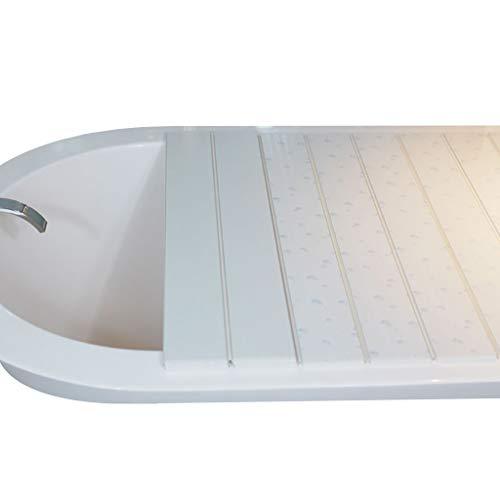 LwBathtub Tray PVC badkuip afdekking anti-stof pluizenplank badkuip isolatieafdekking -110 x 70 x 0,6 cm 3 kleuren