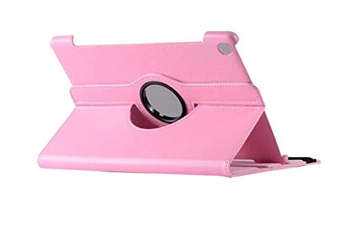 "360 rotierender Fall für Huawei MediaPad M5 Lite 10 BAH2-W19 / L09 / W09 10.1""Tablet PC Stand Cover für Huawei MediaPad M5 Lite 10 Fall-Rose"