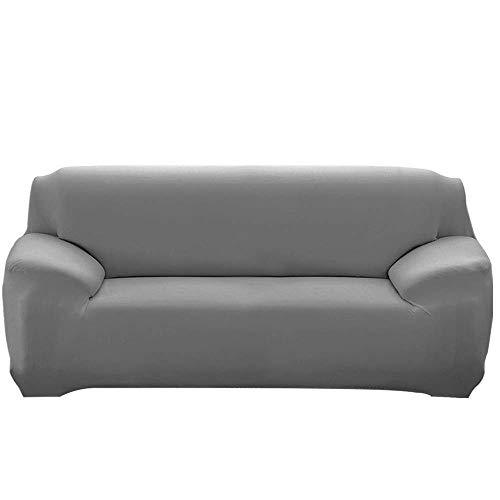 JIAYOUFC Sofa Slipcovers, Extendable JIAYOUFC Sofa Slipcovers with Armrests Comfortable JIAYOUFC Sofa Slipcovers for Living Room Bedroom (Grey,1 Seater/Chair)