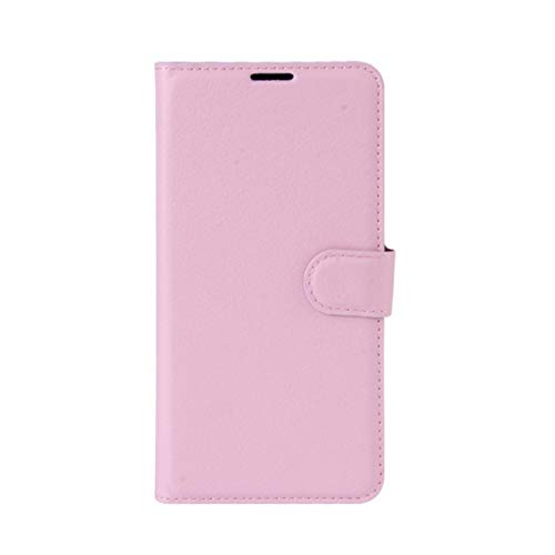 Phone case Lmy for Leagoo M8 Pro Litchi Texture Horizontal Flip Leather Case with Holder & Card Slots & Wallet (Black) (Color : Pink)