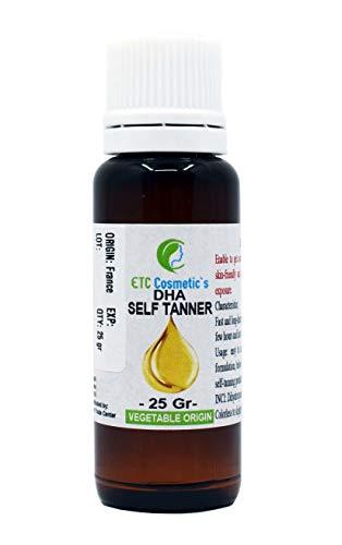 DHA autobronceador natural, líquido - 25 gr (DHA natural self tanner, liquid)
