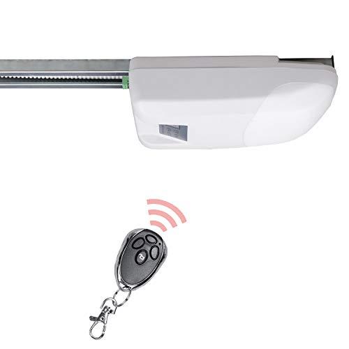 Hengda Sicherheit Garagentorantrieb BORN 800N inkl. 2 Fernbedienungen und Schiene Praktisch Premium Garagen Torantrieb