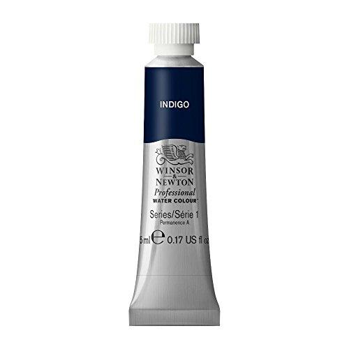 Winsor & Newton Professional Water Colour Paint, 5ml tube, Indigo