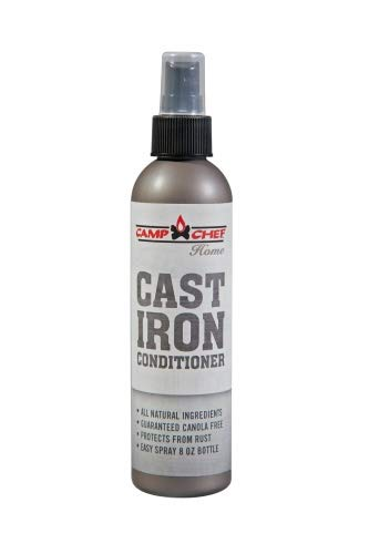 Camp Chef CAST Iron Conditioner Spray Öl Pfelge für Dutch Oven Gußeisen Koch Grill