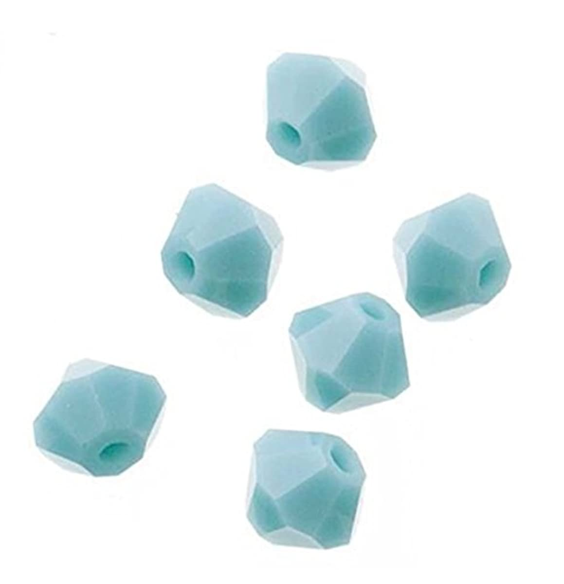 100pcs Genuine Preciosa Bicone Crystal Beads 4mm Turquoise Opal Alternatives For Swarovski #5301/5328 #preb446