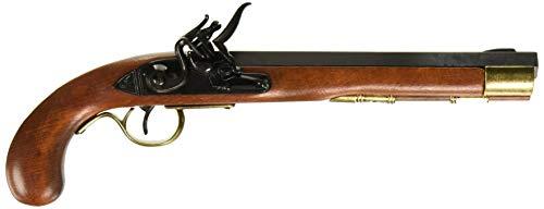 Denix DX1136L Kentucky Flintlock Pistol, Brown