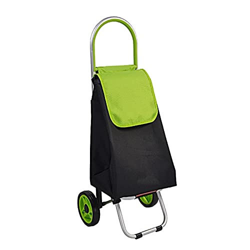 Carro de compras portátil Carrito de compras plegable sobre ruedas Portátiles del equipaje Organizador Bolso de la carretilla para el libro de la lavandería de comestibles viajes de equipaje Carrito d