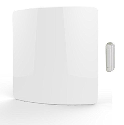 Heath Zenith SL-6273-00 Wireless MP3 Doorbell, White