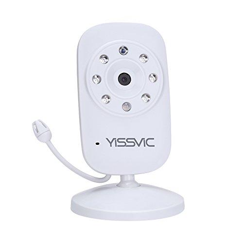 YISSVIC ベビーモニター 見守りカメラ 遠隔監視カメラ 双方向音声通信 暗視機能付き ベビーカメラ 出産祝いプレゼント 日本語取扱説明書付き (追加)