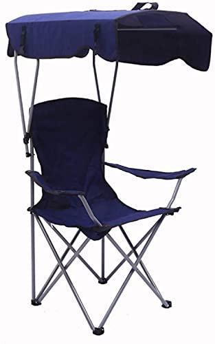 FYRMMD Silla de Camping Mochila Camping al Aire Libre Ligero portátil Plegable Pesca sombrilla Silla de Playa Dosel Plegable Caminata C (sillas de Camping)
