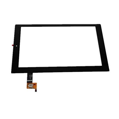 Bildschirm-Ersatzset, 25,7 cm (10,1 Zoll), passend für Lenovo Yoga 2 1050 1050F 1050L Touchscreen-Display, Digitizer, Glasteile, inklusive Werkzeug, Reparaturset, Ersatzbildschirm (Farbe: schwarz)