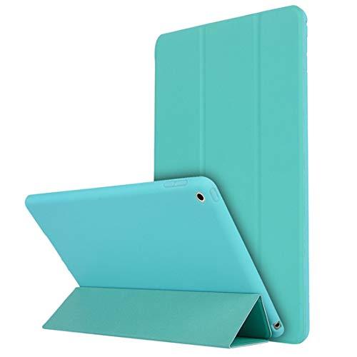 MRLIFY Ipad-Fall, weicher Material-Schlaf-Weckhalter-Schutzhülle-Fall für Ipad 2 3 4-Minze blau grün