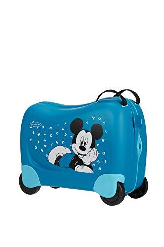 Samsonite Dream Rider Disney - Kindergepäck, 51 cm, 28 L, Blau (Mickey Letters)