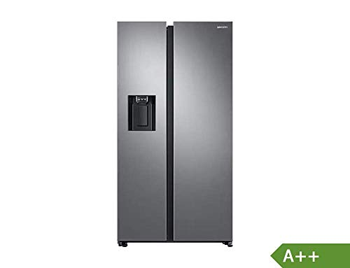 Samsung RS8000 RS6GN8231S9/EG Side-by-Side Kühlschrank/A++/389 kWh/Jahr/178 cm Höhe/407 L Kühlteil/210 L Gefrierteil/Space Max/Twin Cooling Plus