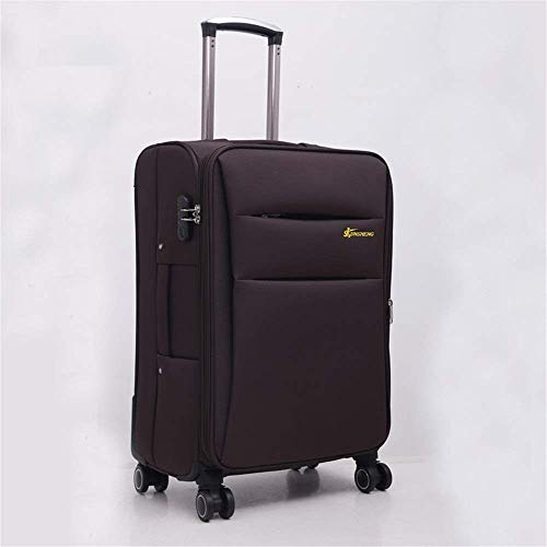 Great Features Of HUYYA Spinner Suitcase Oxford Brake Bag Business Suitcase Caster Tool Trolley Case...