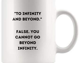Funny Science - Taza de café con diseño de lógica, inspirada en Toy Story, regalo para Nerd, regalo para Geek, taza de lógica, taza de estudiante de ciencia