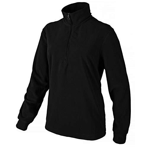 CMP Flecce Rolli Herren Shirt, Nero, 48, 3G28037N