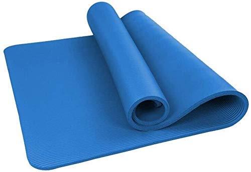 NDYD Mats de Yoga Mats de Alta Densidad, Antideslizante y Anti-Humedad Mat, Yoga, para Grandes, Anchos, Ideales para Gimnasio o hogar, ecológico, DSB