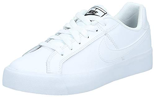 Nike Court Royale AC, Chaussures de Tennis Femme, Blanc (White-Black 102), 37.5 EU