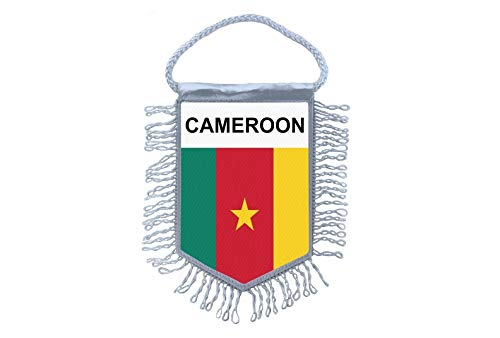 Akachafactory Wimpel Mini Flagge Fahne flaggen miniflagge Kamerun