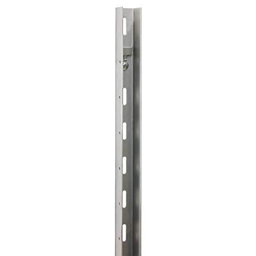 bellissa U-Profil-120 im 2er Set - 98123 - Gabionen Anbauprofil für Gabionen zum Anbau von Holzelementen - 3,5 x 4 x 120 cm