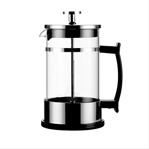Glazen Drip Mocha Koffiepot Espresso Grote Handpers Koffiemachine Espresso Draagbare Koffiepot 600ml