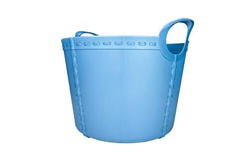 SP Berner - Barreño Grande | Cubo de Plastico con Asas - 40 litros - Violeta