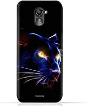 infinix Hot 4 Pro X556 TPU Silicone Protective Case with Panther Eye