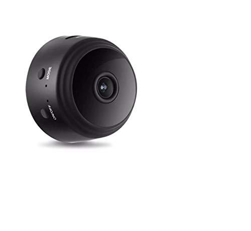 HHYSPA Mini cámara, cámara de vigilancia en el hogar, detección de movimiento Hd 1080p, control remoto, cámara de monitoreo de remolque, para hogar/interior/exterior