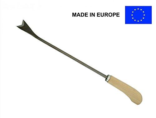 Unkrautmesser V-Nut Unkrautstecher Stecheisen Messer Ausstecher Stecher Unkraut