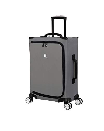 it luggage MaXpace Softside Spinner Wheel, Smoked Hawk, Carry-On 22-Inch