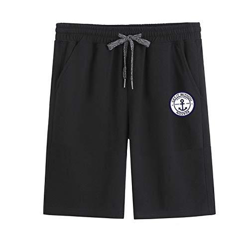 Katenyl Pantalones Cortos Casuales de Talla Grande para Hombre Moda Fitness Deportes al Aire Libre Pantalones Cortos de Playa Sueltos Informales Sencillos y cómodos XL
