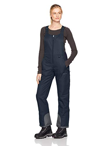 Arctix Women's Essential Insulated Bib Overalls, Blue Night, Large/Regular