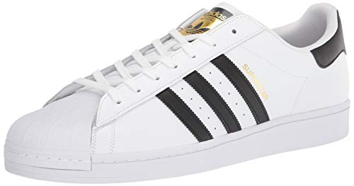 Adidas Unisex-Kinder Superstar Low-Top,Weiß (Ftwr White/Core Black/Ftwr White),38 2/3 EU