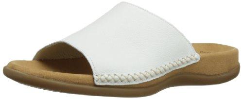 Gabor Shoes 6370521, Mules femme - Blanc (Weiss), 41 EU