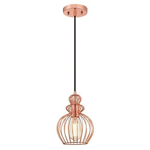 Westinghouse Lighting Lámpara de Techo Colgante de 1 Luz E27, Cobre