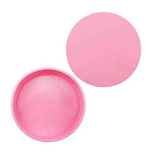 DHYED 8 Inch Round Silicone Cake Baking Mould Mousse Pan Dessert Jelly Pudding Household Kitchen DIY Baking Tools