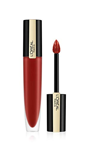 L'Oréal Paris Rouge Signature 115 I Am Worth It, ultra-leichter und hochpigmentierter matter Ink-Lippenstift