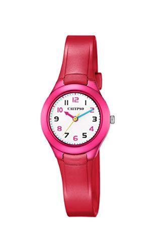 Calypso Reloj Analógico para Niñas de Cuarzo con Correa en Plástico K5749/3