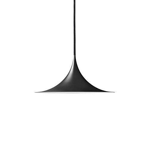 GUBI - Semi Pendelleuchte, Ø 30 cm, schwarz