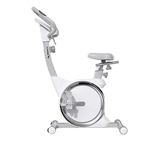 WJFXJQ Ciclismo Indoor Bicicleta estacionaria de Bicicletas, Tasa de Sensores del corazón, Ajustable de una Silla, Pantalla LED, for el hogar y la Gimnasia Uso