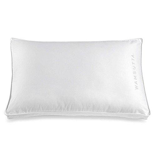 """Wamsutta 26"""" L x 18"""" W Medium Support Standard/Queen 100% Cotton Stomach Sleeper Pillow"""