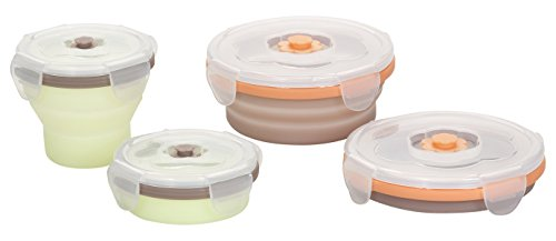 Buy Babymoov 4 Piece Food Collapsible Storage Containers