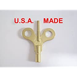 New Haven Trademark Clock Winding Key Double End #6/000